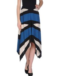 Jean Paul Gaultier 3/4 Length Skirt - Lyst