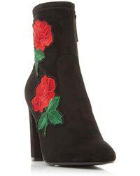 Steve Madden - Black 'edition' High Block Heel Ankle Boots - Lyst