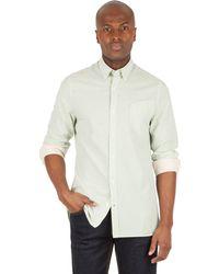 Racing Green - Langley Stripe Shirt - Lyst
