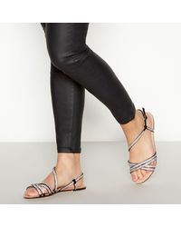 36940b53537 Diamante 'wetty' Sandals - Black