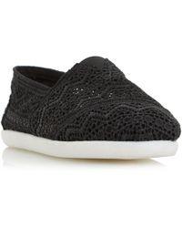 Dune - Black 'eliah' White Sole Slip On Shoes - Lyst