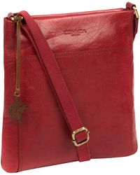 Conkca London - Chilli Pepper 'dink' Leather Cross Body Bag - Lyst