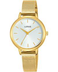 Lorus - Ladies Analogue Mesh Bracelet Watch Rg250nx9 - Lyst
