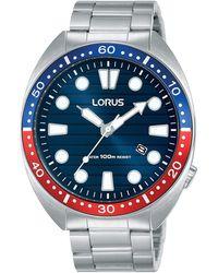 Lorus Analogue 3 Hand Sports Bracelet Watch Rh925lx9 - Metallic