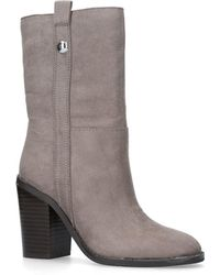 Nine West - 'harbourn' High Heel Calf Boots - Lyst