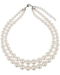 Hobbs - Cream 'tamsin' Necklace - Lyst