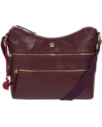 Conkca London - 'georgia' Leather Shoulder Bag - Lyst