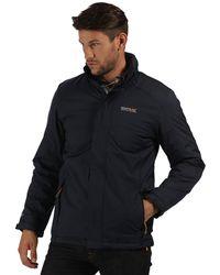 13e4d1e96 Regatta Navy Elwin Waterproof Jacket in Blue for Men - Lyst