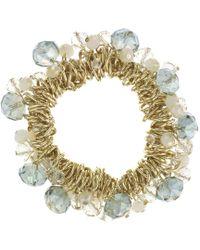 J By Jasper Conran - Designer Beaded Cluster Bracelet - Lyst