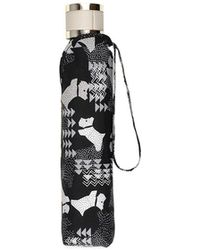 Radley - Black 'data Dog' Mini Telescopic Umbrella - Lyst