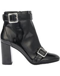Miss Selfridge - Alyssa Patent Zip Boot - Lyst