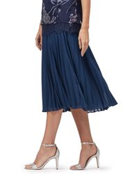 Jacques Vert - Lottie Varigated Pleat Skirt - Lyst