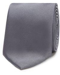 Red Herring Skinny Tie - Grey