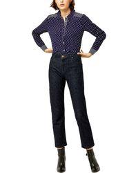 Warehouse - Stripe & Spot Casual Shirt - Lyst