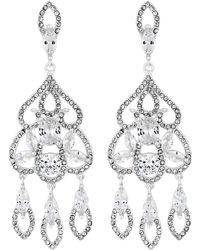 Jenny Packham - Designer Filigree Statement Earrings - Lyst