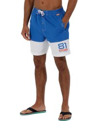 Regatta - Blue 'brachtmar' Swim Shorts - Lyst