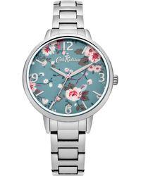 Cath Kidston Ladies Polished Bracelet Watch Ckl001sm - Metallic