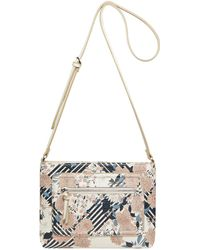 Fiorelli - Multi-coloured Floral Print 'bella' Slim Crossbody Bag - Lyst