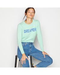 Red Herring Green 'dreamer' Jumper With Cotton