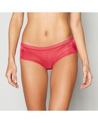 Gossard - Bright Pink Mesh Shorts - Lyst