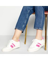 Faith Pink 'wemba' Trainers - Lyst