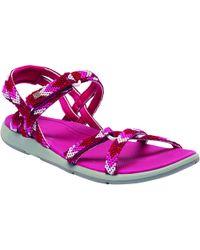 Regatta - Pink Lady Santa Monica Sandals - Lyst