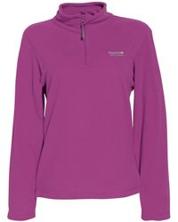 Regatta - Vivid Viola Sweethart Half Zip Fleece - Lyst