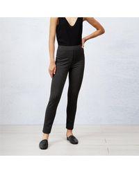James Lakeland Grey Plain Trousers - Multicolour