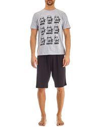 Burton Grey Storm Trooper Pyjama Set