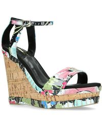 Carvela Kurt Geiger - Multi-colored 'kissimmee' High Wedge Sandals - Lyst