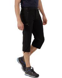 Regatta - Black Xert Stretch Capri Trousers - Lyst