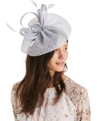 db9abd1c675cb John Lewis and Partners · Phase Eight - Mineral Ruby Flower Fascinator -  Lyst