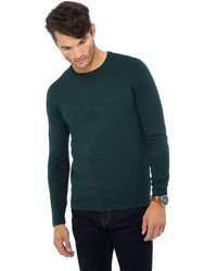 7b0d8fde0 Red Herring Big And Tall Pale Green Twist Knit Jumper in Green for ...