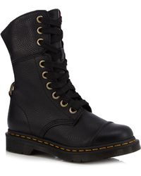 Dr. Martens - Black 'aimilita' Lace Up Boots - Lyst