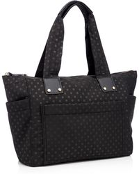 Red Herring - Black Spot Print Nylon Shopper Bag - Lyst