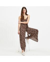 65cd69db8c35 Miss Selfridge - Multi Colour Ditsy Camisole Wide Leg Jumpsuit - Lyst