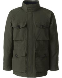 Lands' End Squall Military Waterproof Jacket - Green