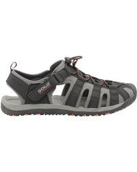 Gola - Black & Red 'shingle 3' Mens Sports Sandals - Lyst