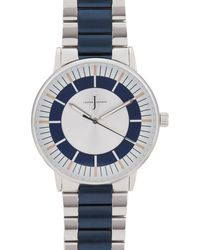 J By Jasper Conran - Womens' Silver Plated Analogue Watch - Lyst
