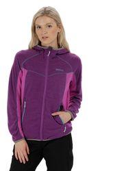 Regatta - Purple 'willowbrook' Sweatshirt - Lyst