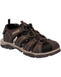 Regatta Westshore Ii Closed Toe Sandals - Brown