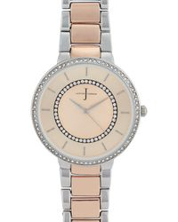 J By Jasper Conran - Rose Gold Plated Analogue Watch - Lyst