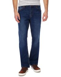 Red Herring - Mid Wash Bootscut Jeans - Lyst