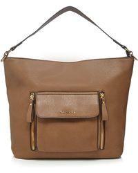 Kangol - Tan Large Pocket Shoulder Bag - Lyst