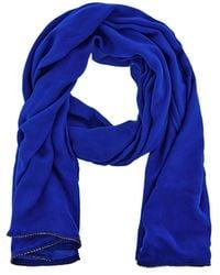 cb9560a853f5 Coast - Cobalt Blue  janey  Diamante Scarf - Lyst