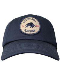 Raging Bull - Navy Baseball Cap - Lyst