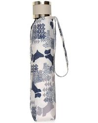 Radley - Ivory 'data Dog' Mini Telescopic Umbrella - Lyst