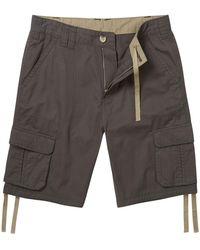 Tog 24 Thunder Kalahari Cargo Shorts - Grey