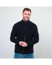 Threadbare - 'samb' Zip Through Cardigan With Wool - Lyst