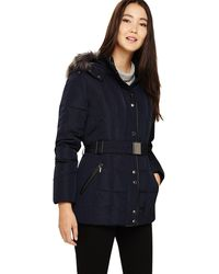 Phase Eight - Navy Selah Short Panel Puffer Jacket - Lyst
